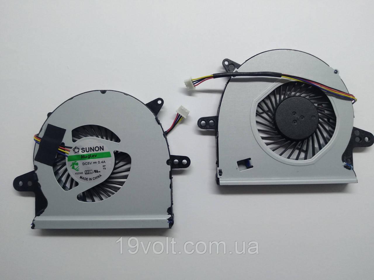 Вентилятор Кулер ASUS  X501U 4-pin