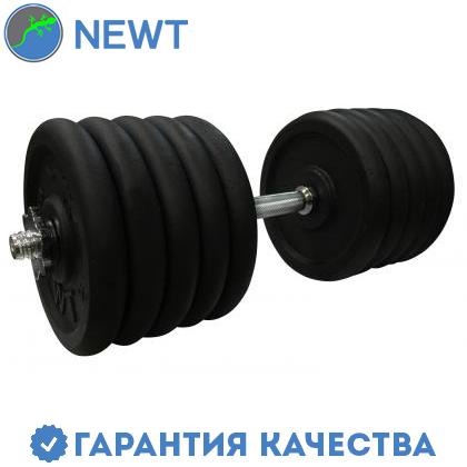 Гантель наборная стальная 52 кг Newt Home, фото 2
