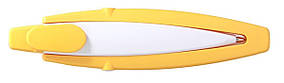 Ручка ber200BC пластиковая стилус, желтая, от 100 шт