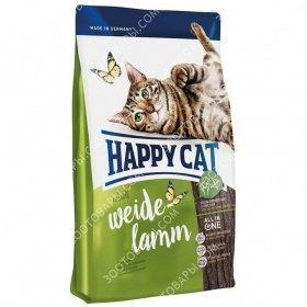 Happy Cat Adult Weide Lamm Корм для взрослых кошек с ягненком, 10 кг