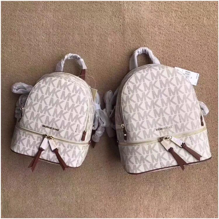Рюкзак, портфель Майкл Корс 23, 26 см, кожаная реплика