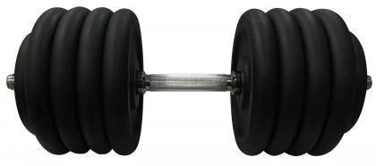 Гантель наборная  стальная 46 кг Newt Home, фото 2