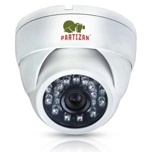 Видеокамера металлическая купольная CDM-233H-IR HD v3.1 Metal