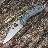 Нож Spyderco Delica 4 C11FP (Replica) Серый, фото 1