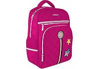 """Рюкзак школьный для девочки в розовом цвете """"Star"""" Cool For School 86567-02"""