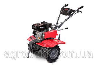 Бензиновый мотоблок BIZON 900 (7 л.с.) (красный цвет)+Фреза на мотоблок разборные Ф23