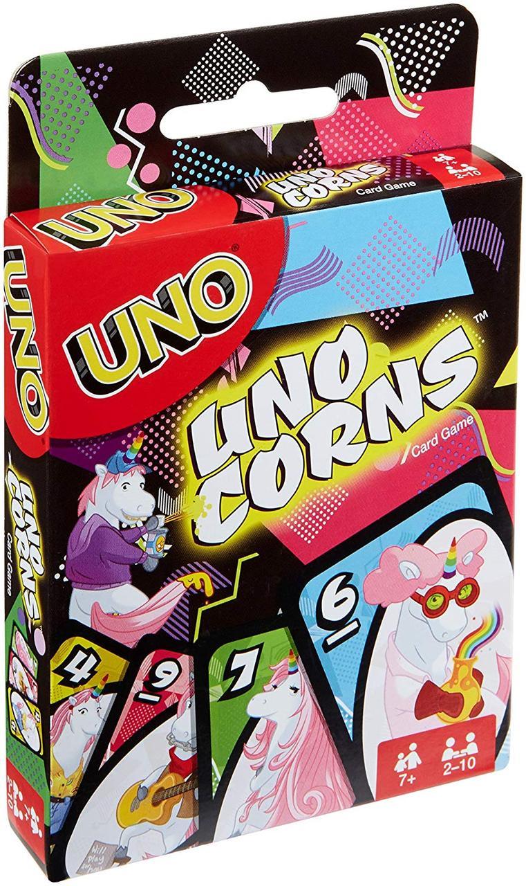 Карточная игра Mattel UNO Единороги (887961587630) (FNC46)