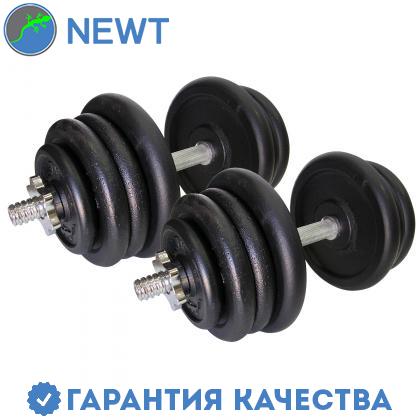 Гантели наборные стальные 2 шт по 25,5 кг, фото 2