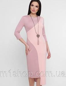 Женское облегающее асимметричное платье-миди (Willowfup)