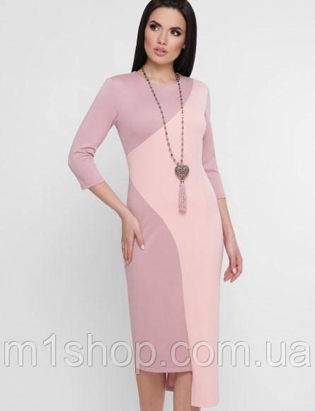 Женское облегающее асимметричное платье-миди (Willow fup)