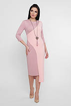 Женское облегающее асимметричное платье-миди (Willow fup), фото 3