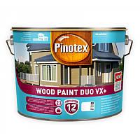 Масляная краска на водной основе для деревянных фасадов Pinotex Wood Paint Duo VX+