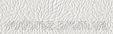 Плитка для стен WABI RP-6954R Shiro Flower White Polished 34x111 cm