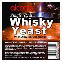 Дрожжи спиртовые для виски Alcotec Single Strain Whisky Yeast