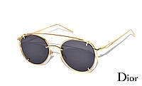 Молодежные солнцезащитные очки женские  Dior, копия очки диор