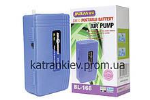 Автономный компрессор на батарейках Bl-168 одноканальный до 100 л