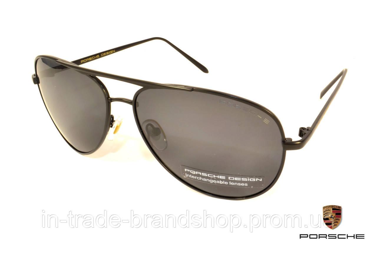 Классические солнцезащитные очки Porsche (Polarized), очки в стиле порше поляризованные