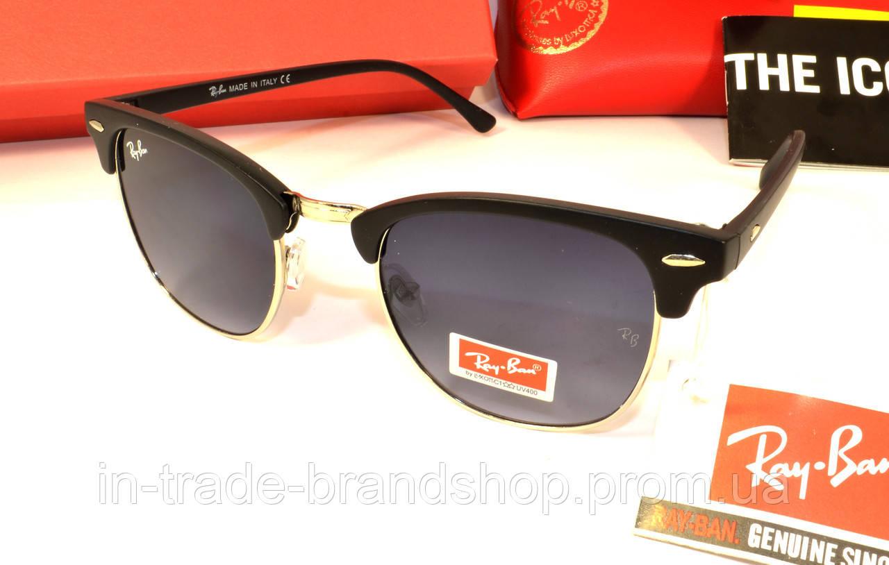 Стильные солнцезащитные очки рей бен, копия очков клаб мастер