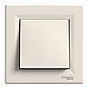 Выключатель проходной кремовый Asfora Schneider electric EPH0400123