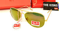Модные солнцезащитные очки рей бен, точная копия очки Ray Ban авиатор