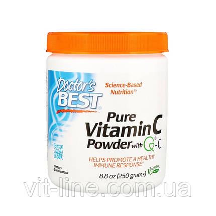 Doctor's Best, Порошкообразный витамин С (Best Vitamin C Powder) (250 г), фото 2