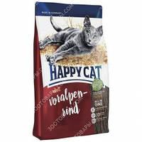 Happy Cat Adult Voralpen Rind Сухой корм для кошек с говядиной, 10 кг