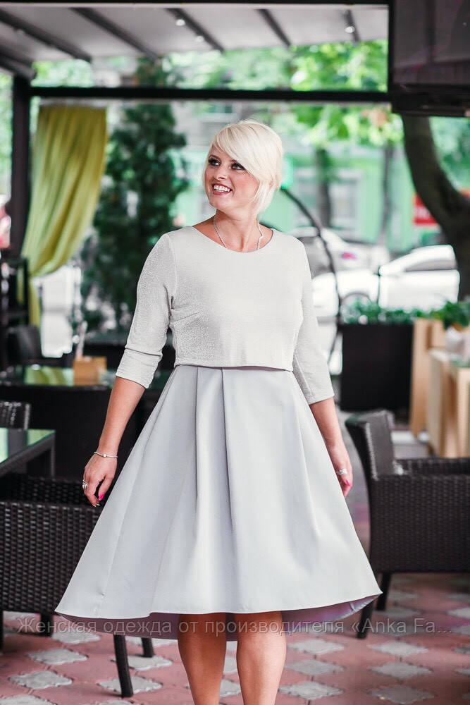 Грациозное женское платье