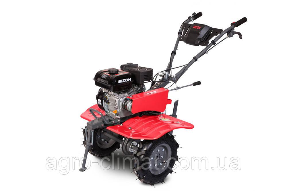 Бензиновый мотоблок Bizon 900 LUX(красный цвет)