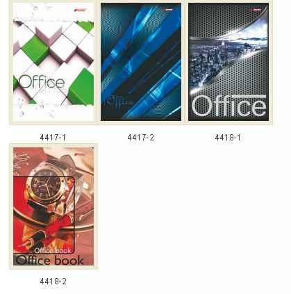Ділова книга Brisk Office, A4, 176 аркушів, лінія, тверда обкладинка, ДКВ4=, фото 2