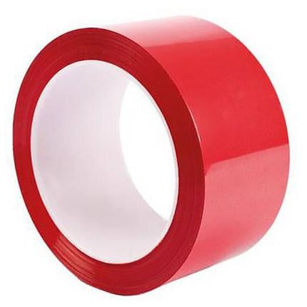 Стрічка поліпропіленова з липким шаром (KNOPKA, 45х30, 40 мкм, червоний, (72 шт)), фото 2