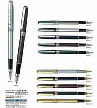 Ручка капілярна металева Baixin, (mix сін., чорн., золот. корп.) RP920-2,-9 -12