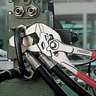 Ключ трубный переставной KNIPEX 86 03 с гладкими губками Wurth, фото 2