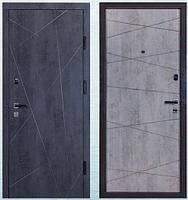 """Входная дверь """"МИНИСТЕРСТВО ДВЕРЕЙ"""" ПK-156 Бетон темный"""