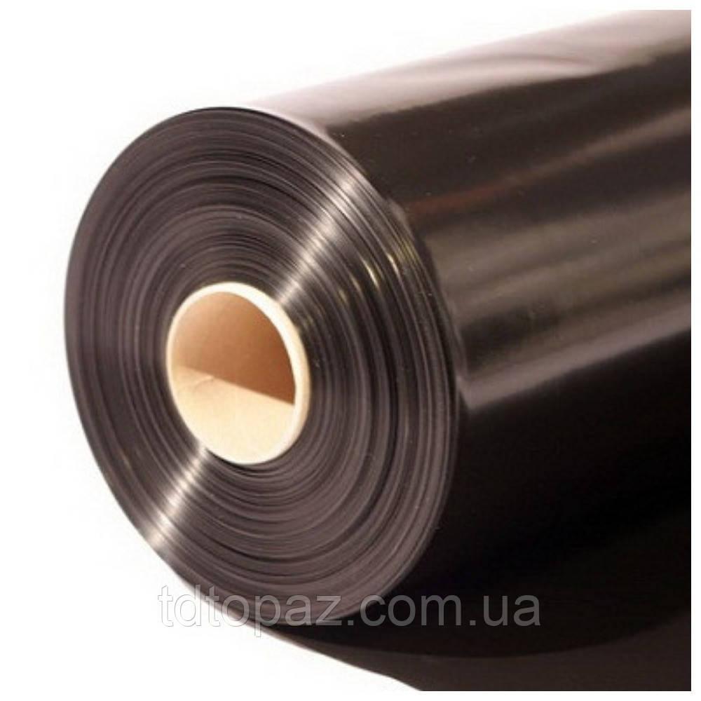 Пленка полиэтиленовая черная 80мкм (3м*100м)