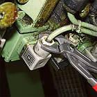 Ключ трубный переставной KNIPEX 87 01 с кнопкой (кобра), фото 3