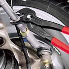 Ключ трубный переставной KNIPEX 87 01 с кнопкой (кобра), фото 6