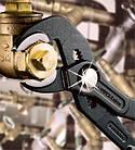 Ключ трубный переставной KNIPEX 87 01 с кнопкой (кобра), фото 5