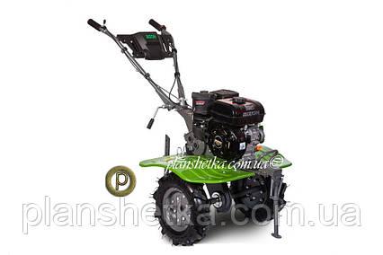 Бензиновый мотоблок BIZON 900 LUX (зеленый цвет), фото 2