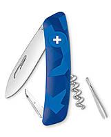 Нож  Swiza C01, blue urban