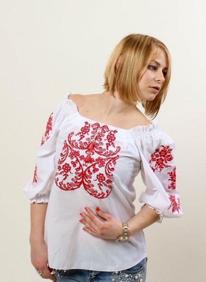 """Блуза  вышиванка """"Анастасия """""""