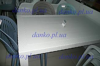 Стол OW-T209R SPRING белый 140*80, искусственный ротанг от Kashtan