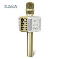 ОРИГИНАЛ! Микрофон караоке с колонками TOSING 016 TUXUN Беспроводной Блютуз / Лучший детский подарок, фото 1