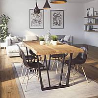 Стол деревянный  Lisabon обеденный массив дуба 1600х1000х750