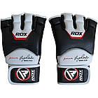 Снарядные перчатки, битки RDX Leather S, фото 5