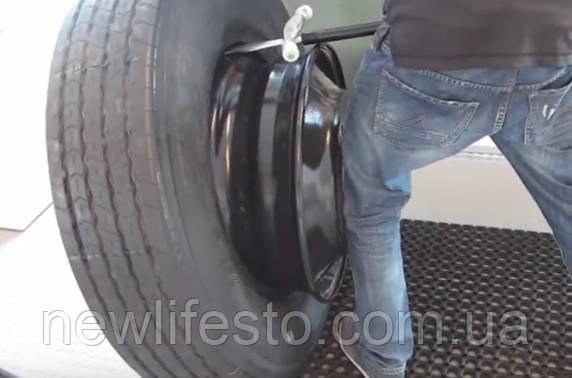 Инструмент для ручного монтажа/демонтажа грузовых шин 15,5 кг (Winner) - фото 5
