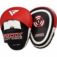 Боксерські лапи RDX Gel Focus Red