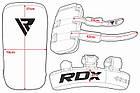 Пады для тайского бокса RDX Red (2шт), фото 9