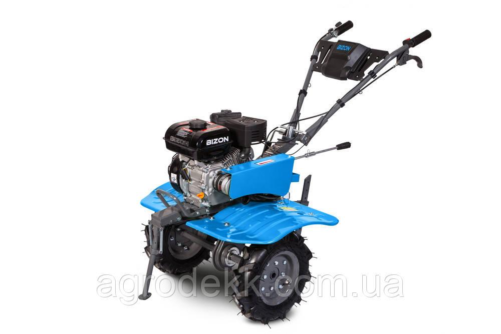 Бензиновый мотоблок BIZON 900 (7 л.с.) (синий цвет)+Фреза на мотоблок разборные Ф23
