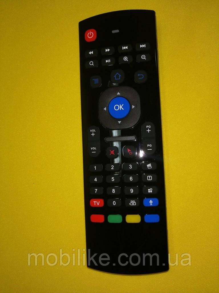 Универсальный пульт Air Mouse MX3 (2,4 GHz) с голосовым управлением