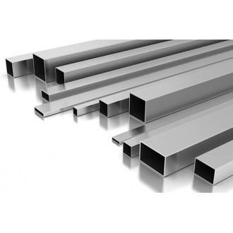 Мебельная тонкостенная профильная труба 17х17х1,0 мм